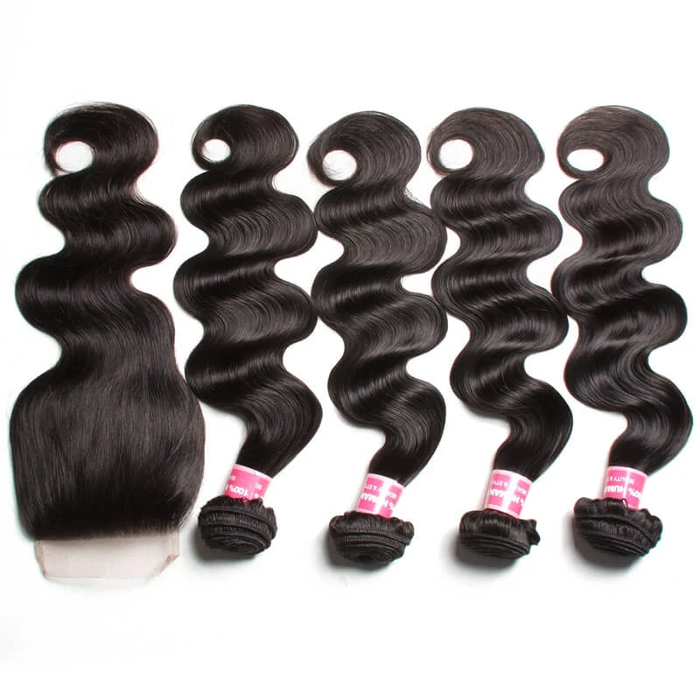 Quality 4*4 Lace Closure Human Virgin