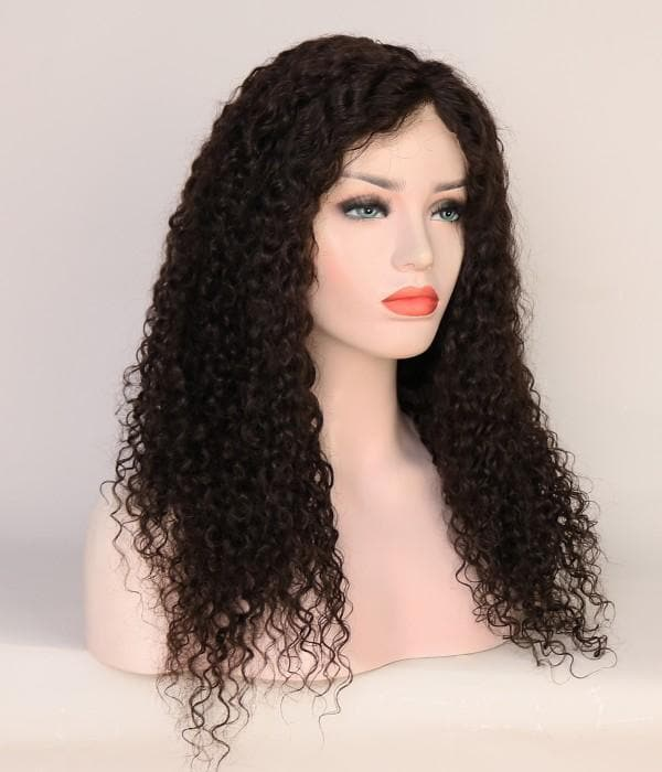 Wigs Jerry Curly Virgin Hair