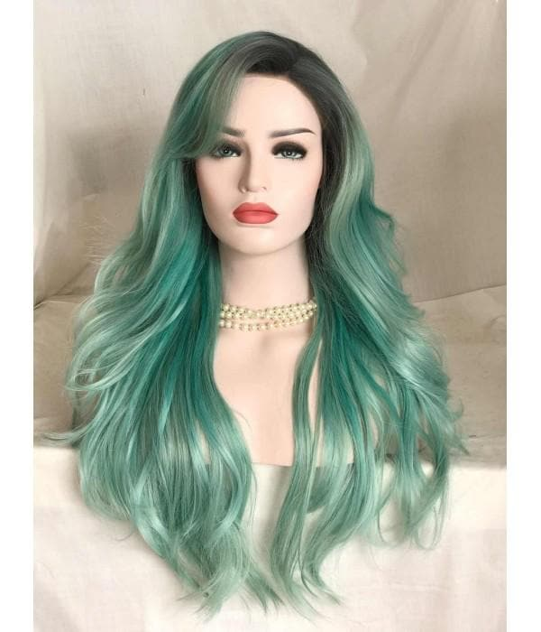 Quality Green Color Wavy