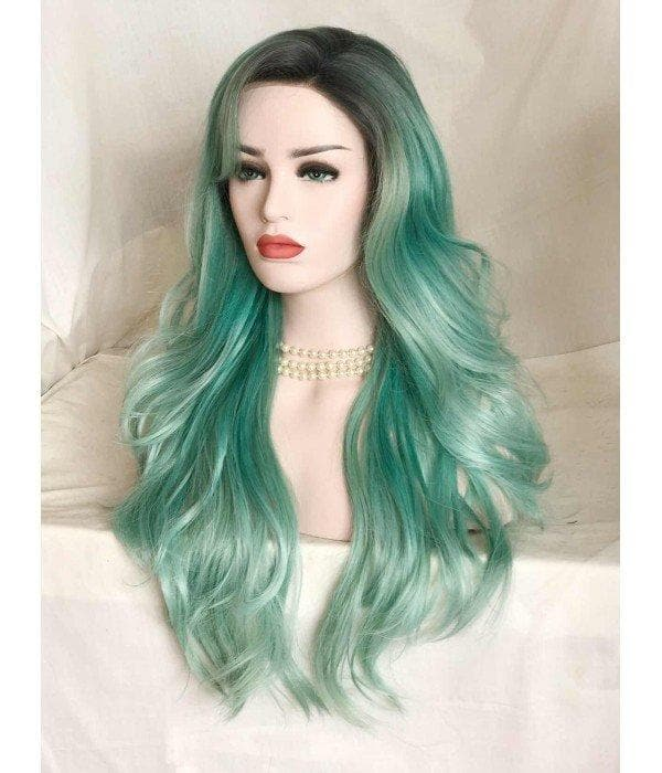 Green Color Wavy Virgin