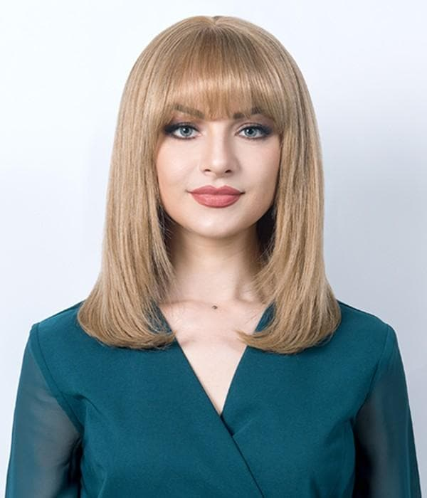 150% Density Ombre Straight Bob Wig
