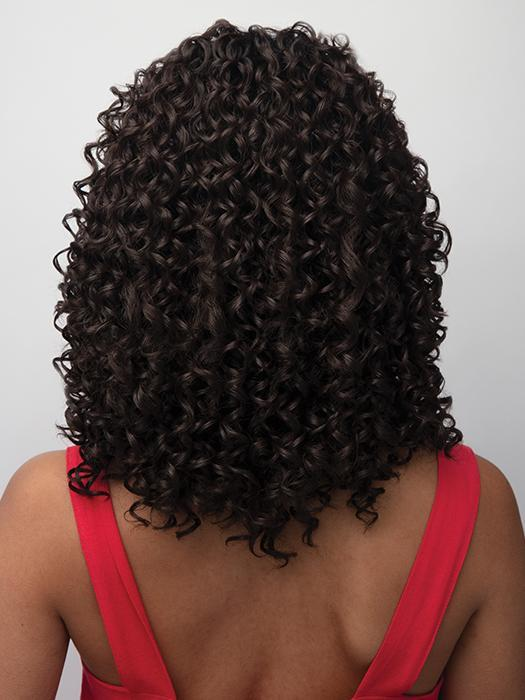 Quality 150% Density Curly Natural Black