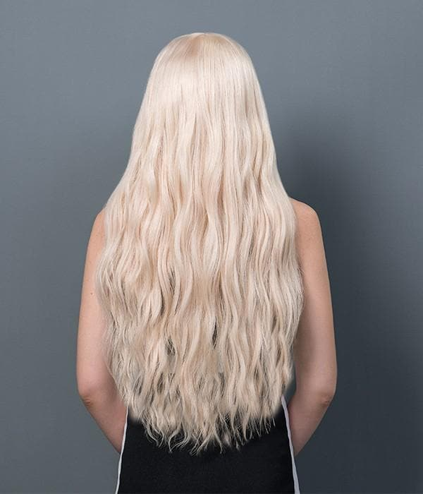 Quality Long White Glueless Human Hair