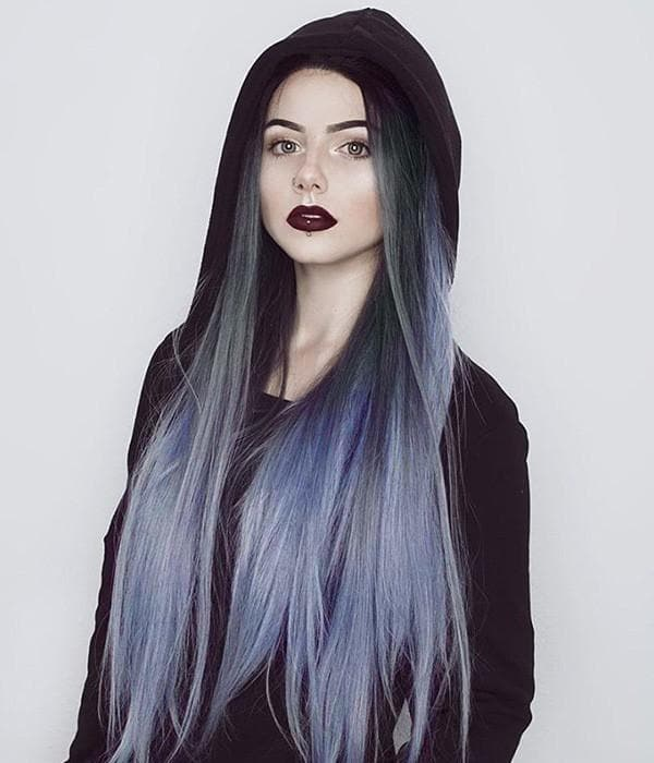 Best Blue Ombre Human Hair