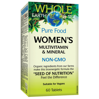 Women's Multivitamin & Mineral, Whole Earth & Sea Tablets