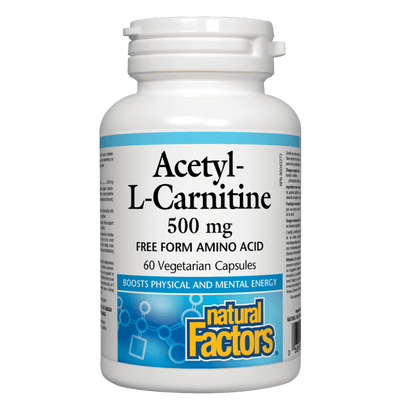 Acetyl-L-Carnitine  500 mg Vegetarian Capsules