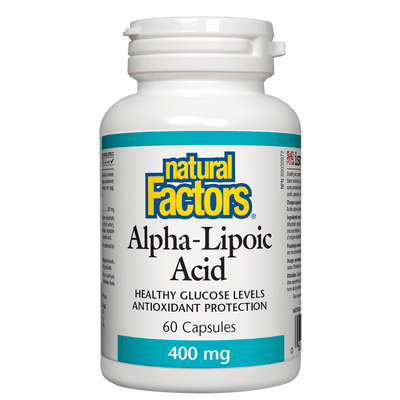 Alpha-Lipoic Acid    400 mg Capsules