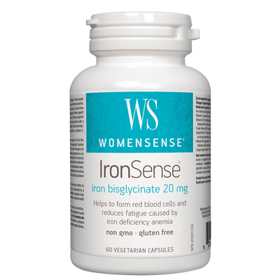 IronSense iron bisglycinate 20 mg Vegetarian Capsules