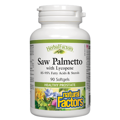 Saw Palmetto with Lycopene, HerbalFactors Softgels