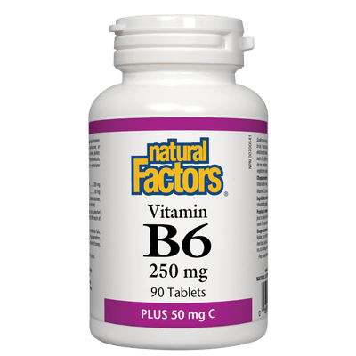 Vitamin B6 250 mg Plus 50 mg C Tablets