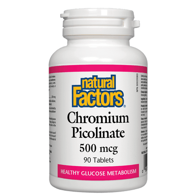 Chromium Picolinate  500 mcg Tablets