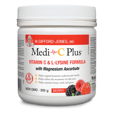 Medi-C Plus with Magnesium Ascorbate Berry Powder