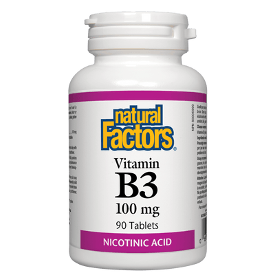 Vitamin B3  100 mg  Tablets