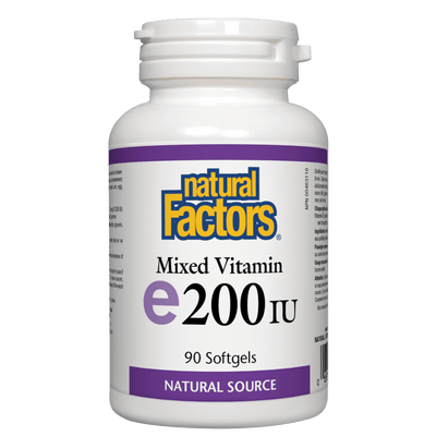 Mixed Vitamin E 200 IU, Natural Source Softgels