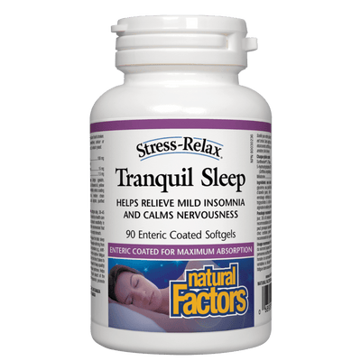 Tranquil Sleep, Stress-Relax  Enteric Coated Softgels
