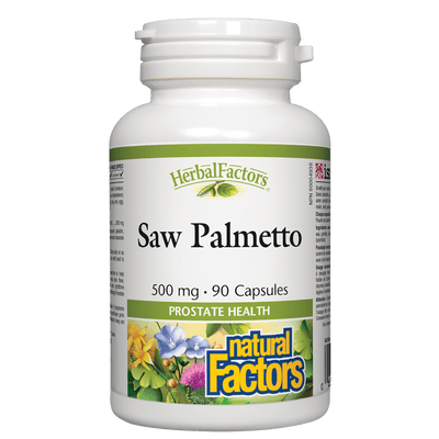 Saw Palmetto 500 mg, HerbalFactors Capsules