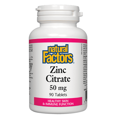 Zinc Citrate  50 mg Tablets