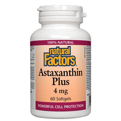 Astaxanthin Plus  4 mg Softgels
