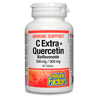 C Extra + Quercetin Bioflavonoids 500 mg / 500 mg Tablets