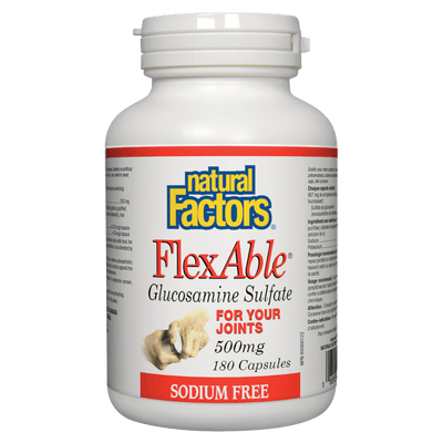 FlexAble Glucosamine Sulfate  500 mg Capsules