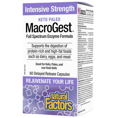MACROGEST Keto Paleo Intensive Strength  Delayed Release Capsules