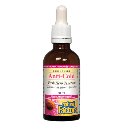 Anti-Cold Fresh Herb Tincture, ECHINAMIDE Tincture