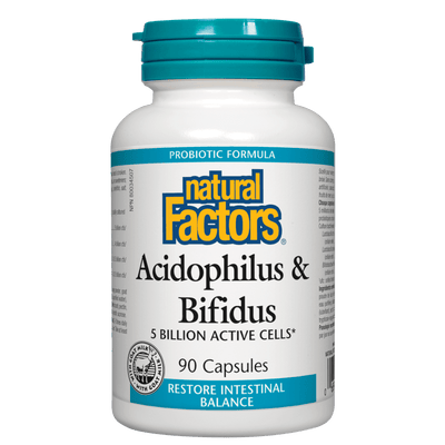 Acidophilus & Bifidus  5 Billion Active Cells Capsules