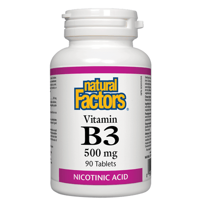 Vitamin B3  500 mg Tablets