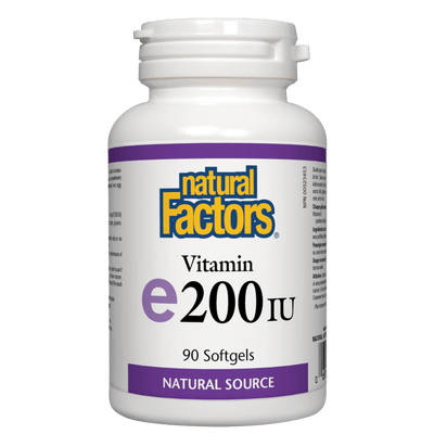 Vitamin E  Natural Source 200 IU, Softgels