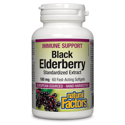 Black Elderberry Standardized Extract 100 mg