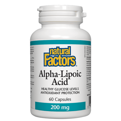 Alpha-Lipoic Acid  200 mg Capsules