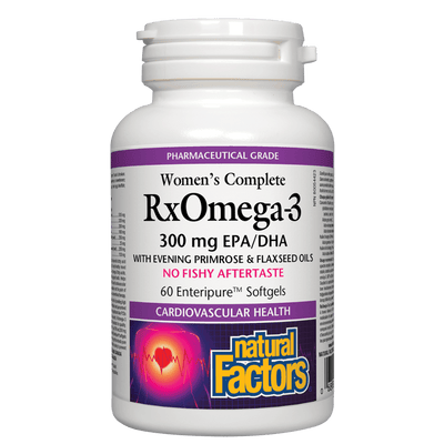 Women's Complete RxOmega-3  300 mg Softgels