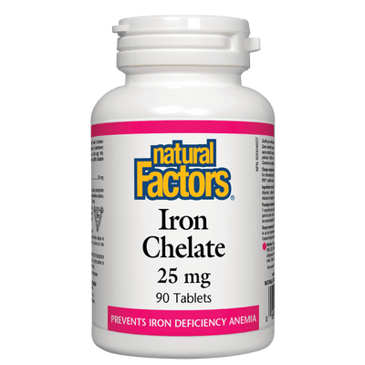 Iron Chelate  25 mg Tablets