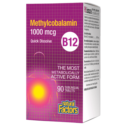 B12 Methylcobalamin   1000 mcg Sublingual Tablets
