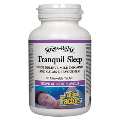 Tranquil Sleep, Tropical Fruit Flavour, Stress-Relax