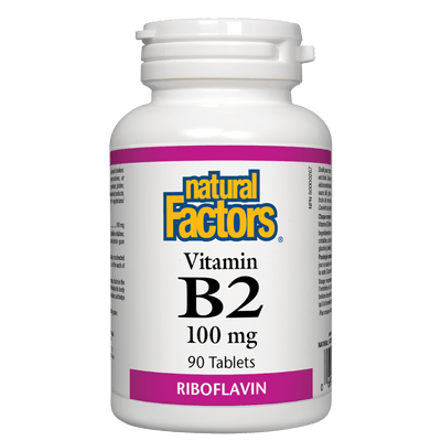 Vitamin B2  100 mg Tablets