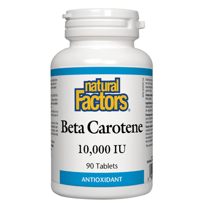 Beta Carotene  10,000 IU Tablets