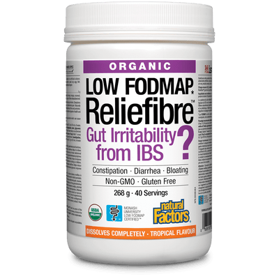 Organic Reliefibre  Tropical Flavour Powder