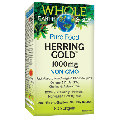 Herring Gold 1000 mg Softgels