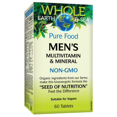 Men's Multivitamin & Mineral, Whole Earth & Sea Tablets