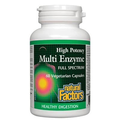 Multi Enzyme  High Potency Full Spectrum   Vegetarian Capsules