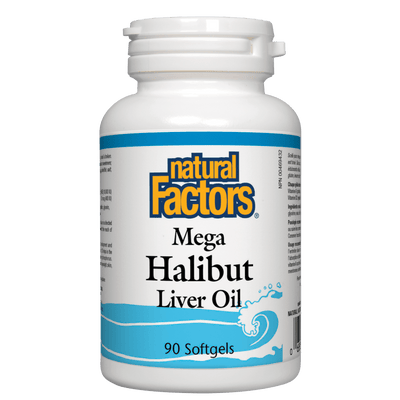 Mega Halibut Liver Oil   Softgels