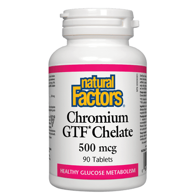 Chromium GTF Chelate  500 mcg Tablets
