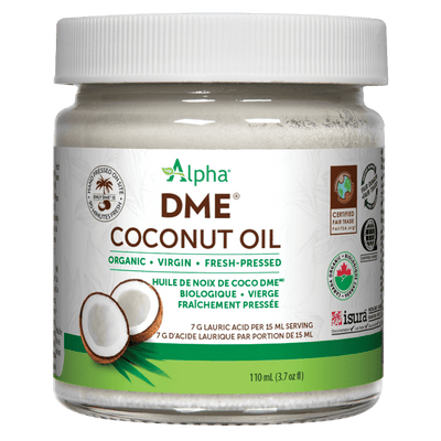 Alpha DME Organic Virgin Coconut Oil Liquid