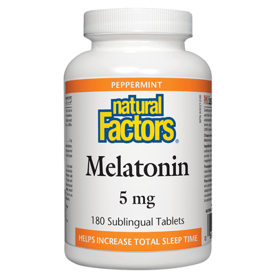 Melatonin 5 mg, Peppermint