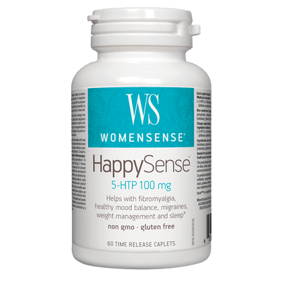 HappySense 5-HTP 100mg Time-Release Caplets