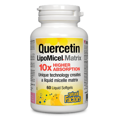 Quercetin LipoMicel Matrix 250mg Softgels