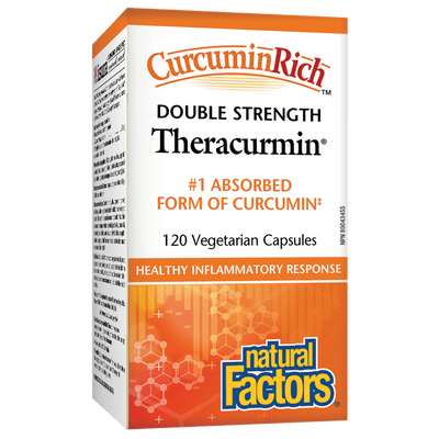 CurcuminRich Theracurmin Double Strength   Vegetarian Capsules