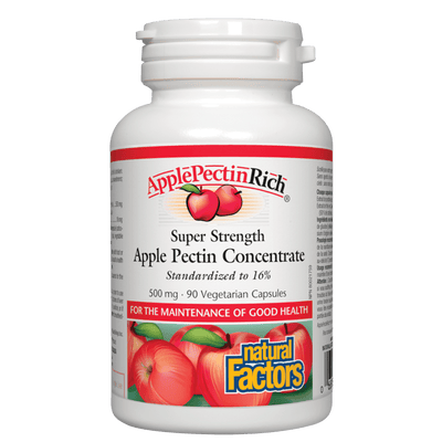 ApplePectinRich Super Strength Apple Pectin Concentrate 500 mg Vegetarian Capsules