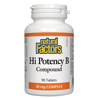 Hi Potency B Compound 50 mg Tablets